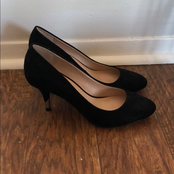 Call it Spring black heels